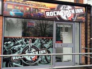 Tattoo Studio in Loughborough